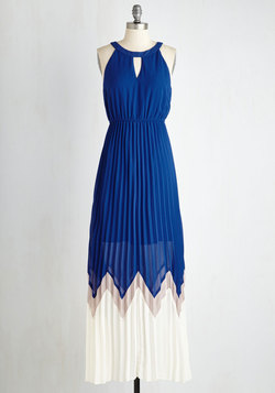 Bryant Park Brilliance Dress in Cobalt