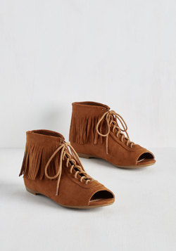 Fringe for Life Bootie