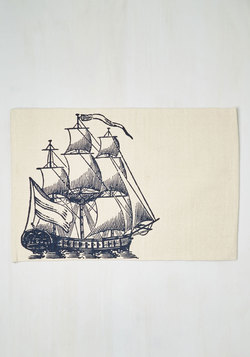 All Sail the Queen Rug