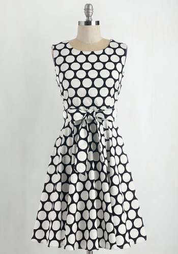 Girl Meets Twirl Dress in Dots