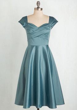 Pine All Mine Dress in Dusty Blue