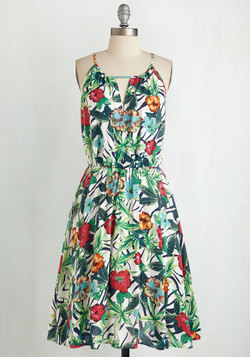Port of Call Me Dress