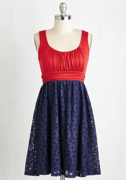Artisan Iced Tea Dress in Cherry-Blueberry