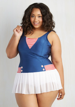 All Adored! One-Piece Swimsuit in Plus Size