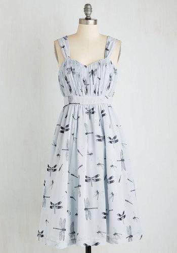 Dragonfly Away With Me Dress $124.99 AT vintagedancer.com