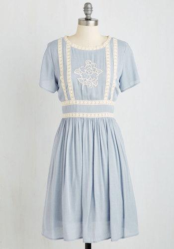 Flair Folk Dress $69.99 AT vintagedancer.com