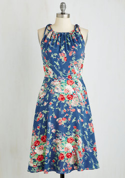 Ready, Grilling, and Able Dress in Floral