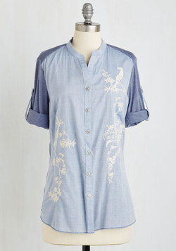 Charming Cherry Blossoms Top