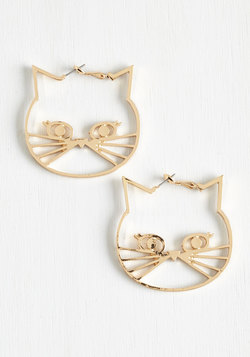 A Tail of Two Kitties Earrings