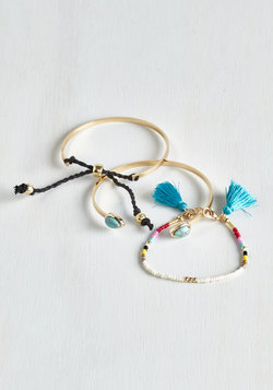 Trendsetting Trio Bracelet Set