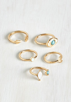 Variety and Crumpets Ring Set