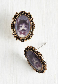 Meow Wait a Minute Earrings