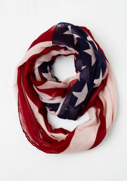 Humming to America Scarf
