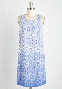 The Hand You're Delft Dress