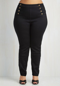 Set Sailorette Jeans in Black - 14-22