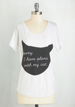 Caturday Night Tee