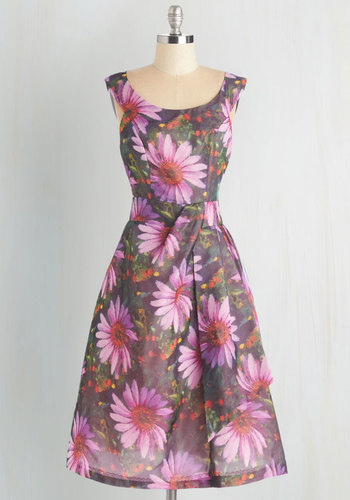 Down to a Fine Art Dress in Garden