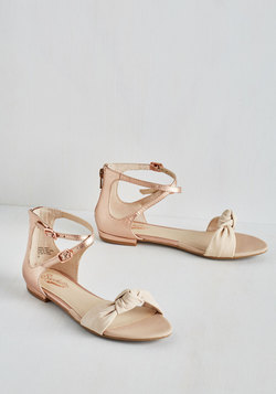 I've Got a Secret Sandal in Rose Gold