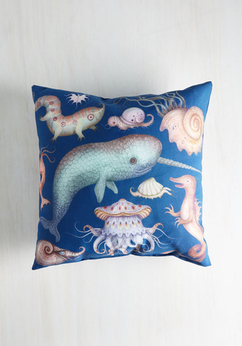 Creatures of the Whim-sea Pillow