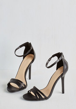 Sought-After Sophistication Heel in Black
