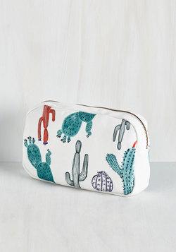 You and Cacti Makeup Bag
