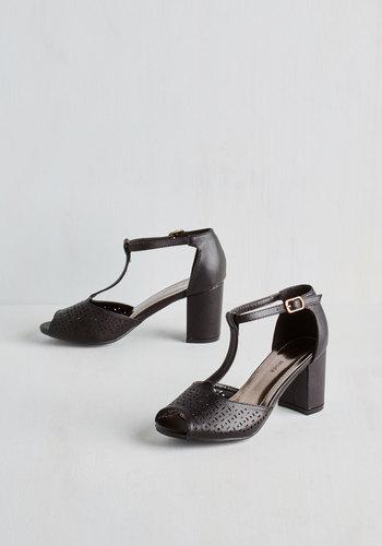 Dance Floor Diva Heel in Black $44.99 AT vintagedancer.com