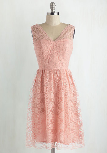 Layer on the Love Dress in Blush