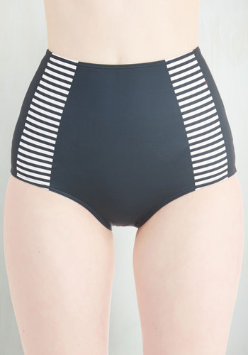 All Day Aquatics Swimsuit Bottom - Knit, Solid, Stripes, Nautical, High Waist, Exclusives, Private Label, Underwire