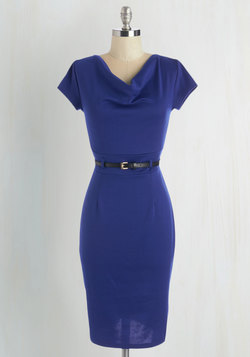 This Magic Memo-ment Dress in Cobalt