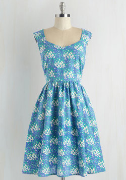 Gone Stamping Dress in Pineapple