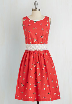 Sittin' Ditty Dress