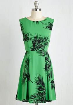 A Lady's Best Frond Dress in Palm