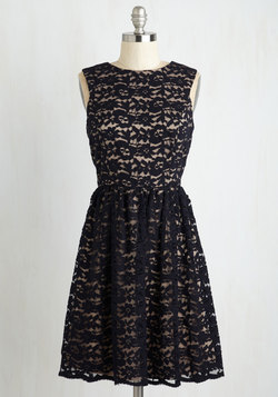 Perfect Dance Partner Dress in Navy