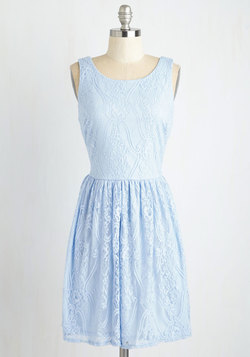 Dream Design Dress in Periwinkle