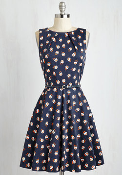 Luck Be a Lady Dress in Fleur