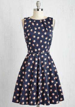 Luck Be a Lady Dress in Fleur