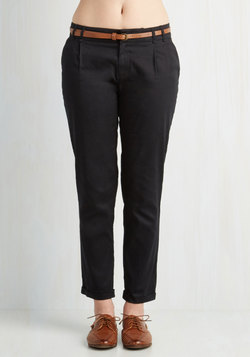 New Slack Swing Pants in Black