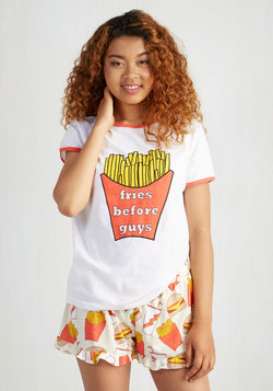 Fry Again Later Pajama Top