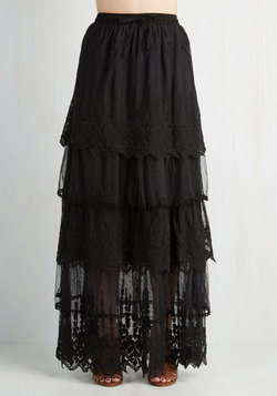 Made for Mingling Skirt in Black