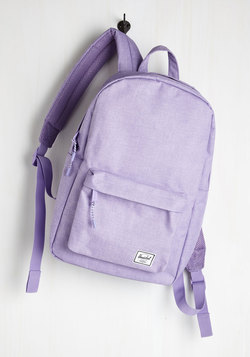Pack on Track Backpack in Lilac