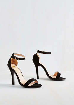 Girl's Night Game Plan Heel in Black