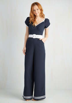 Ship Off the Bold Block Jumpsuit