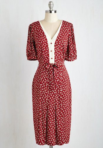 Watch and Discern Dress $79.99 AT vintagedancer.com