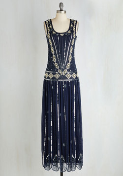 Winsome Wonderment Dress in Midnight
