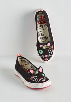 Animal Imprints Sneaker in Cat