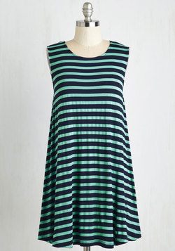 My Stride in Joy Dress in Stripes