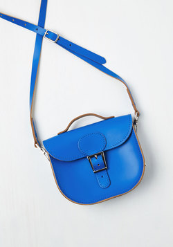 Have Style, Will Travel Bag in Cobalt