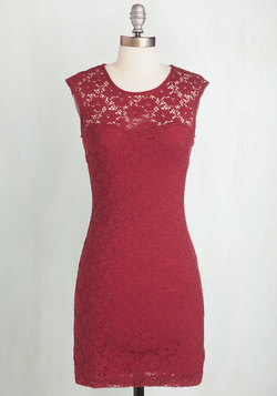Ruby Blooms Dress