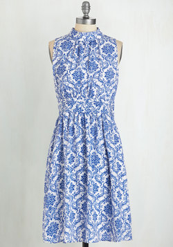 Windy City Dress in Delft