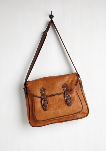 Syllabus of the Best Bag - Brown, Solid, Buckles, Exposed zipper, Work, Boho, Urban, Travel, Darling, Faux Leather, Top Rated